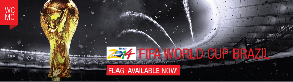 worldcup flag Supply